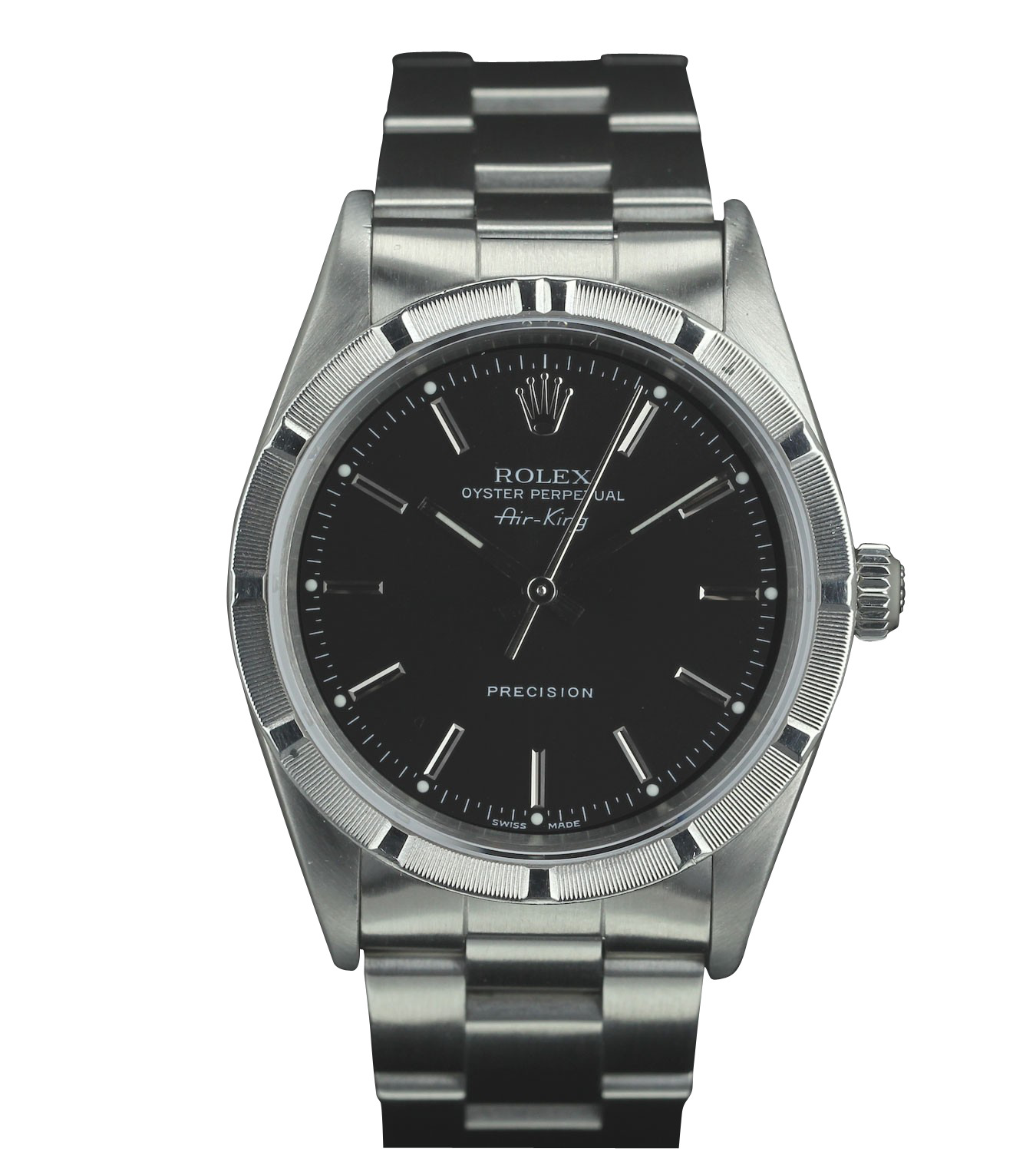 Rolex collection other models rolex air king 14010 black dial premium watch for Rolex air king