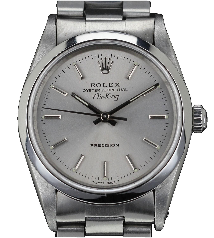 rolex de collection autres mod les rolex air king 14000 premium watch. Black Bedroom Furniture Sets. Home Design Ideas